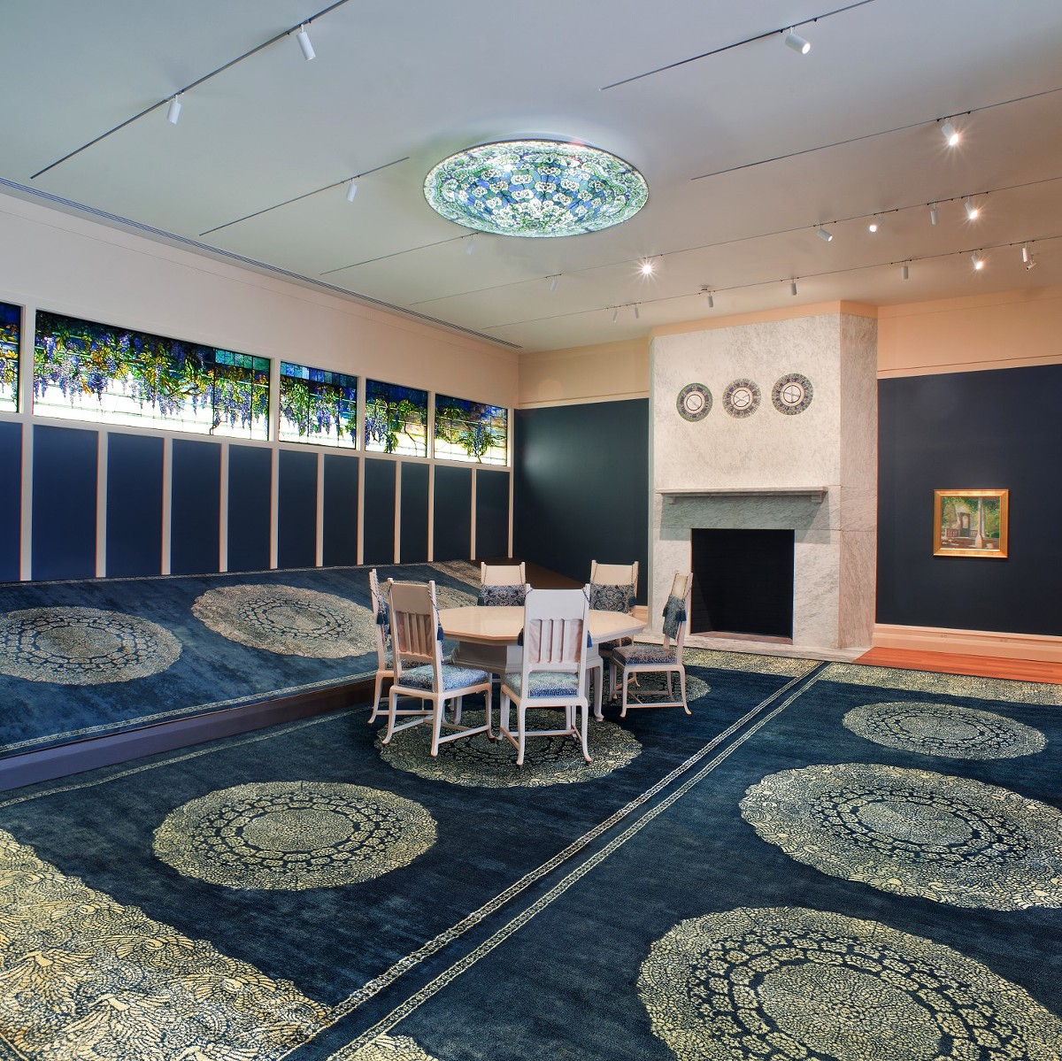"""The Morse's two summer programs focus on interior design and decoration during the late 19th and early 20th centuries. Pictured: The dining room in the permanent exhibition """"Louis Comfort Tiffany's Laurelton Hall."""""""