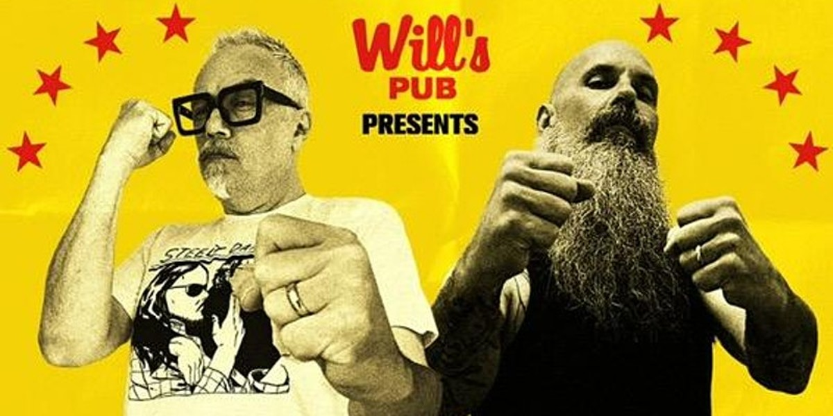 The Ludes and the Hamiltons at Will's Pub