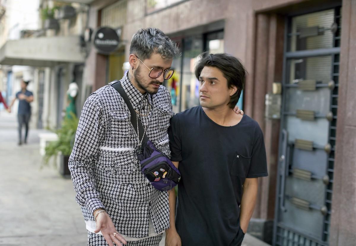 Fabrizio Santini and Ricardo Polanco in 'Bankrolled'