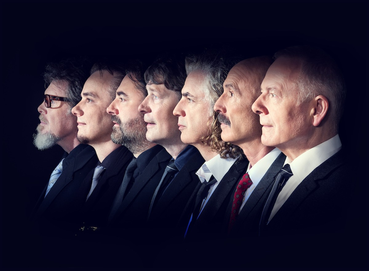 The magnificent seven: King Crimson plays Orlando Monday, July 26