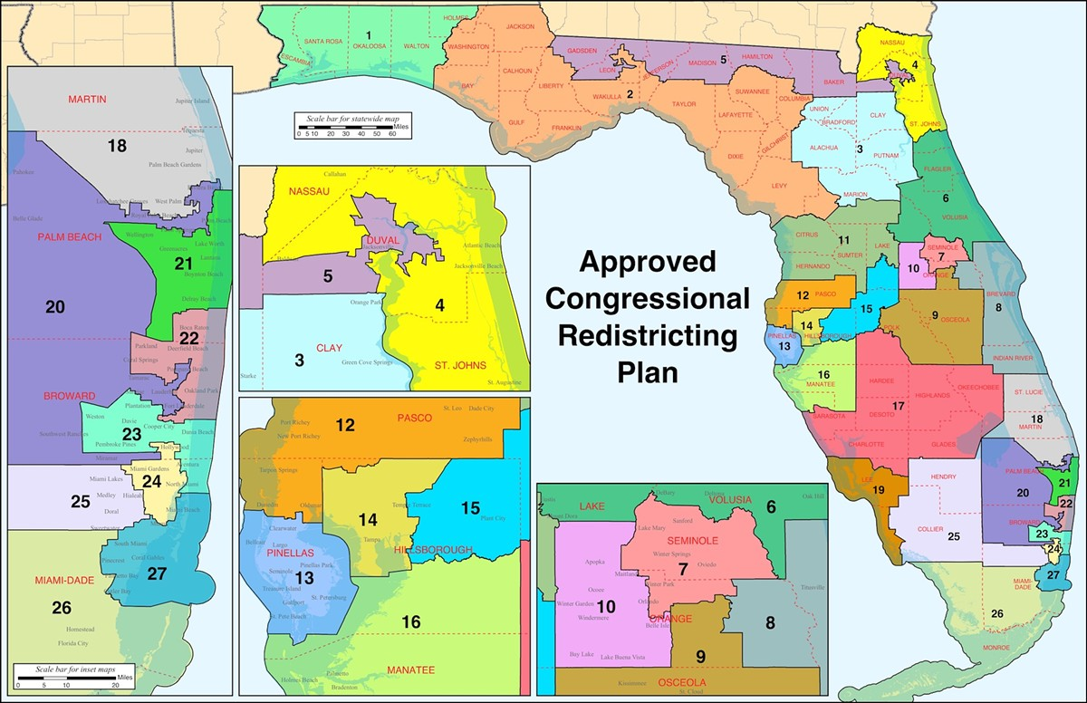 After the 2010 Census, it took 5 years and an extended court battle to settle on Florida's Congressional districts.