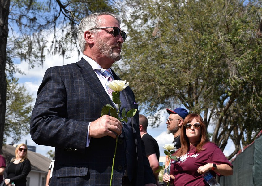 Orlando Mayor Buddy Dyer - PHOTO BY MONIVETTE CORDEIRO