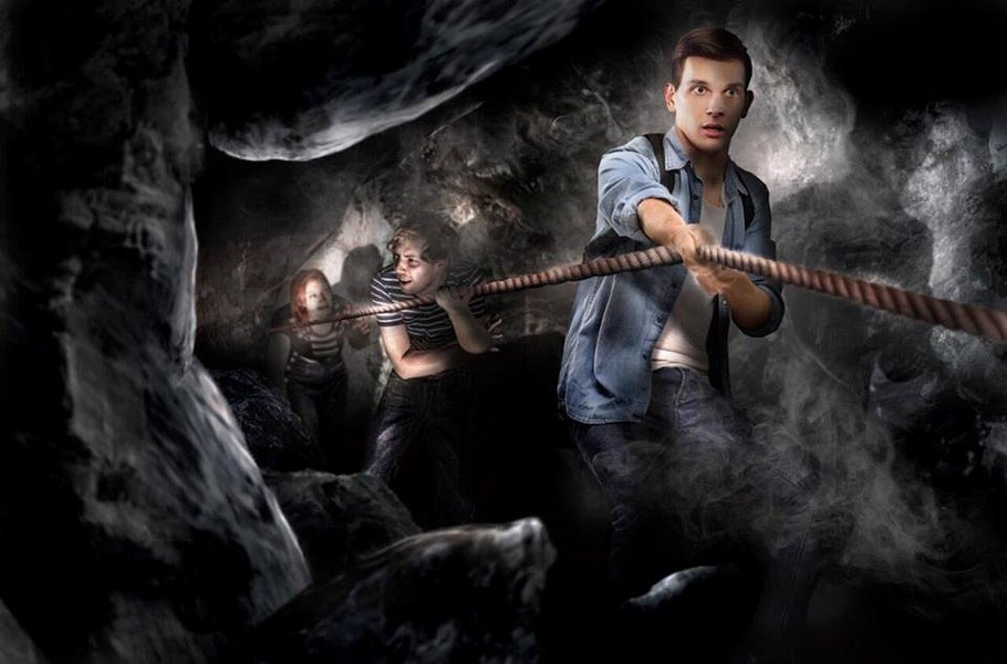 Concept art for the highly themed maze experience at the Bear Grylls Adventure - IMAGE VIA BEAR GRYLLS ADVENTURE | FACEBOOK