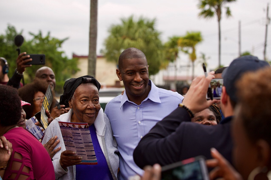 PHOTO VIA ANDREW GILLUM CAMPAIGN/TWITTER