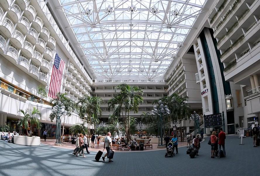 PHOTO VIA ORLANDO INTERNATIONAL AIRPORT FACEBOOK
