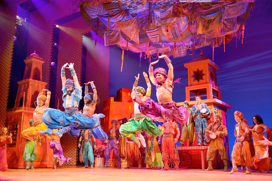 'Disney's Aladdin' will leaps into the Dr. Phillips Center direct from Broadway as part of the newly announced 2019-2020 Fairwinds Broadway in Orlando series. - PHOTO CREDIT DEEN VAN MEER VIA FAIRWINDS BROADWAY IN ORLANDO