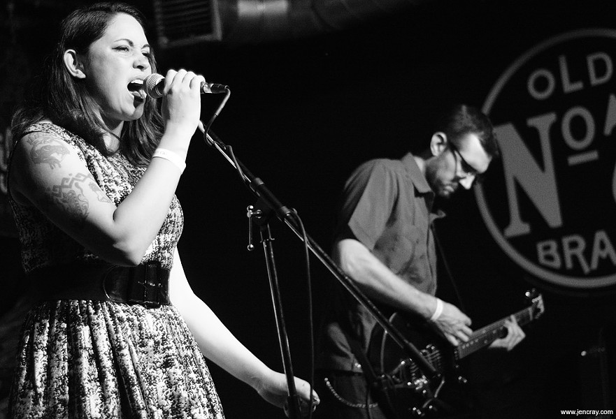 Little Sheba & the Shamans at Will's Pub - JEN CRAY