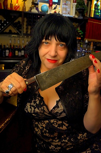Lydia Lunch in Orlando - JIM LEATHERMAN