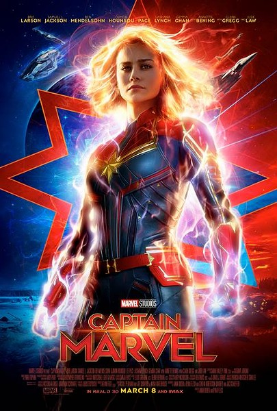 Captain Marvel -  - Opens Friday, March 8  - 3.5 out of 5 stars - IMAGE COURTESY DISNEY