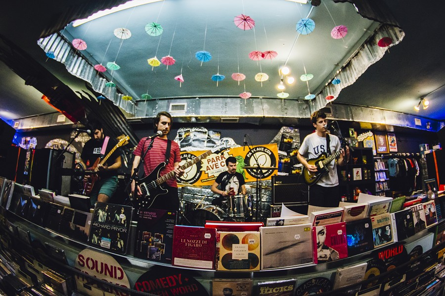 Pioneer of nothing: Photos from You Blew It!'s EP release at Park Ave CDs - PHOTO BY JAMES DECHERT