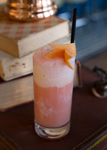 The Pink Lady cocktail - PHOTO COURTESY THE OSPREY TAVERN
