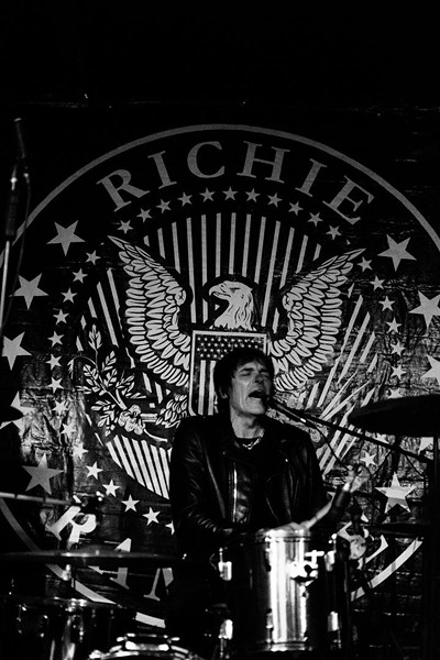 Richie Ramone at Will's Pub - SIERRA REESE