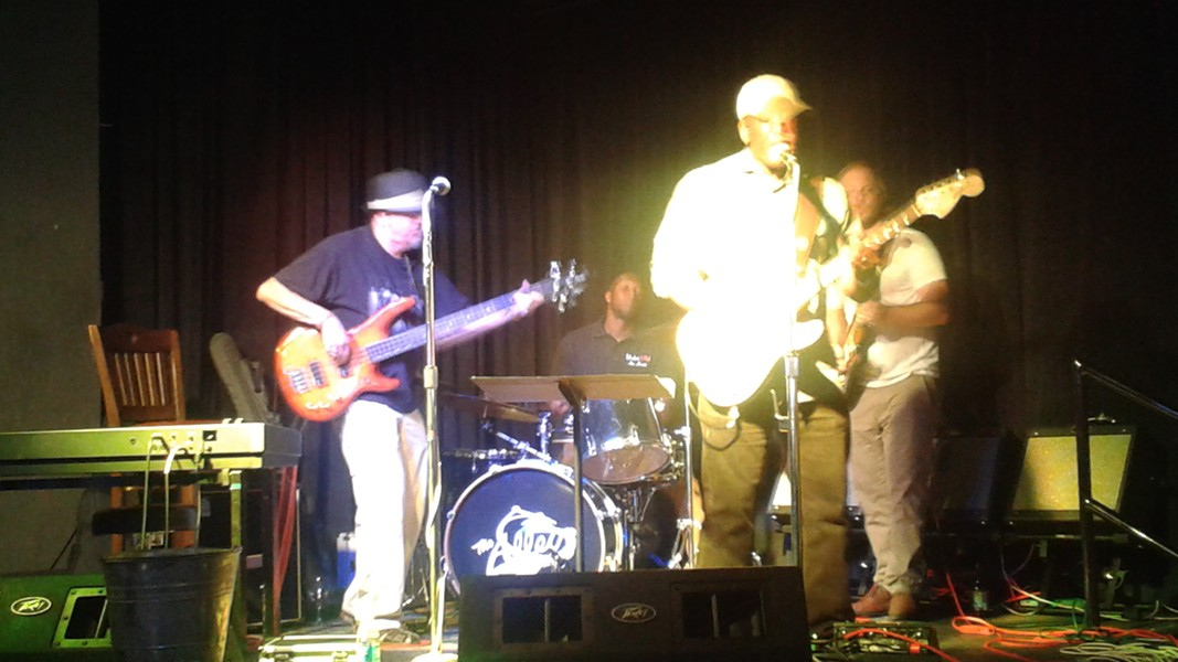 Wednesday blues jam at the Alley