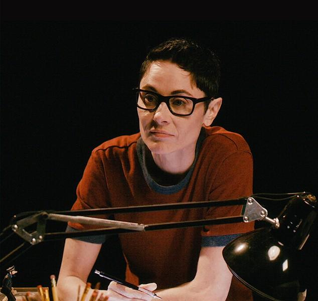 Beth Malone as Alison - PHOTO VIA FUNHOMEBROADWAY.COM