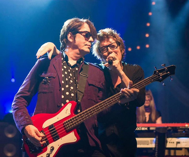 Richard and Tim Butler of the Psychedelic Furs