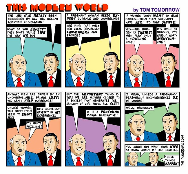 COMIC BY TOM TOMORROW