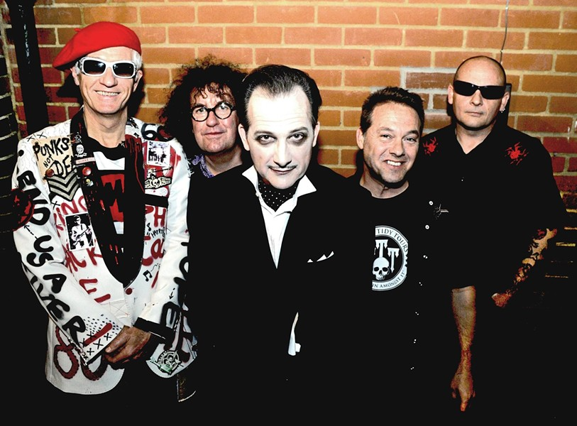 PHOTO VIA THE DAMNED/FACEBOOK