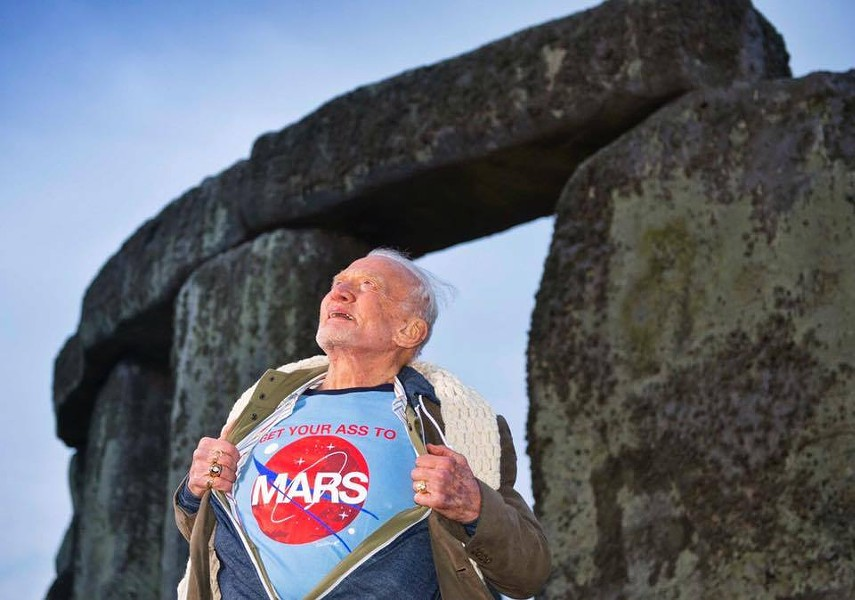 PHOTO VIA BUZZ ALDRIN/FACEBOOK