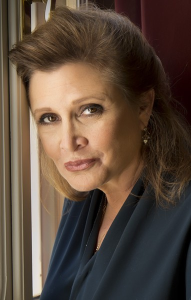 Carrie Fisher at the Venice International Film Festival, 2013 - RICCARDO GHILARDI