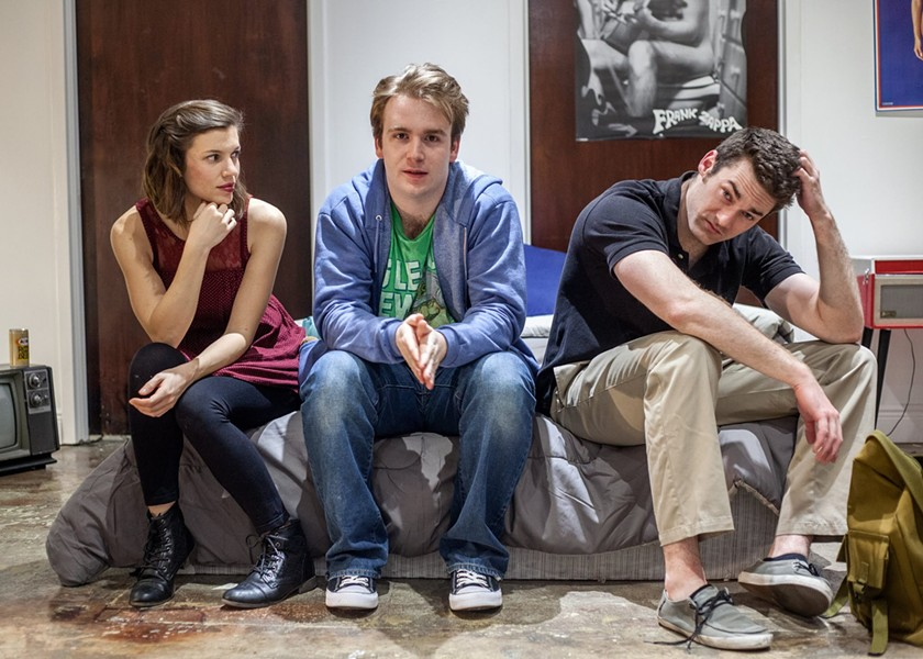Monica Mulder, Austin Davis and Jack Kelly star in Kenneth Lonergan's 'This Is Our Youth' at Macbeth Studio, now through Feb. 25 - PHOTO CREDIT MONICA MULDER