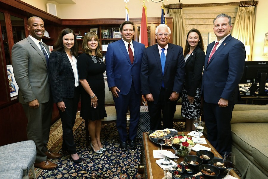 Gov. Ron DeSantis meets with the U.S. Ambassador to Israel, David Friedman - PHOTOS COURTESY OFFICE OF THE GOVERNOR