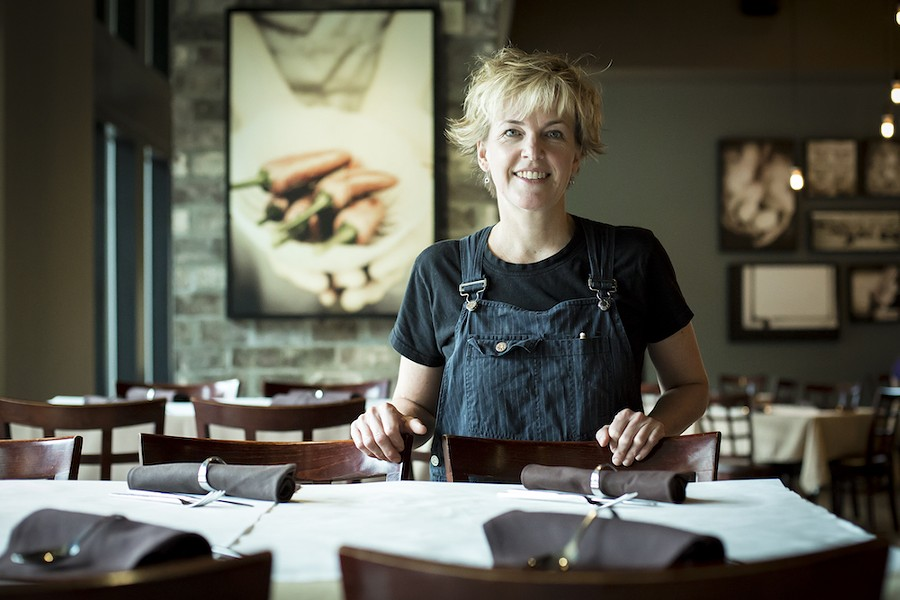 Kathleen Blake, chef-owner of the Rusty Spoon - PHOTO BY ROB BARTLETT