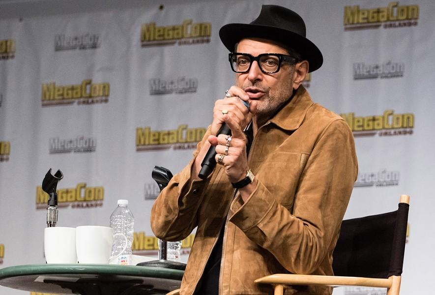 Jeff Goldblum at Megacon - PHOTO COURTESY OF MEGACON