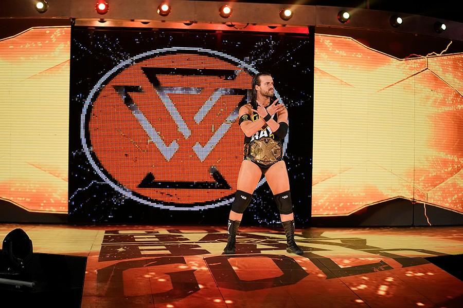 NXT Champion Adam Cole - PHOTO COURTESY WWE NXT AND FULL SAIL UNIVERSITY
