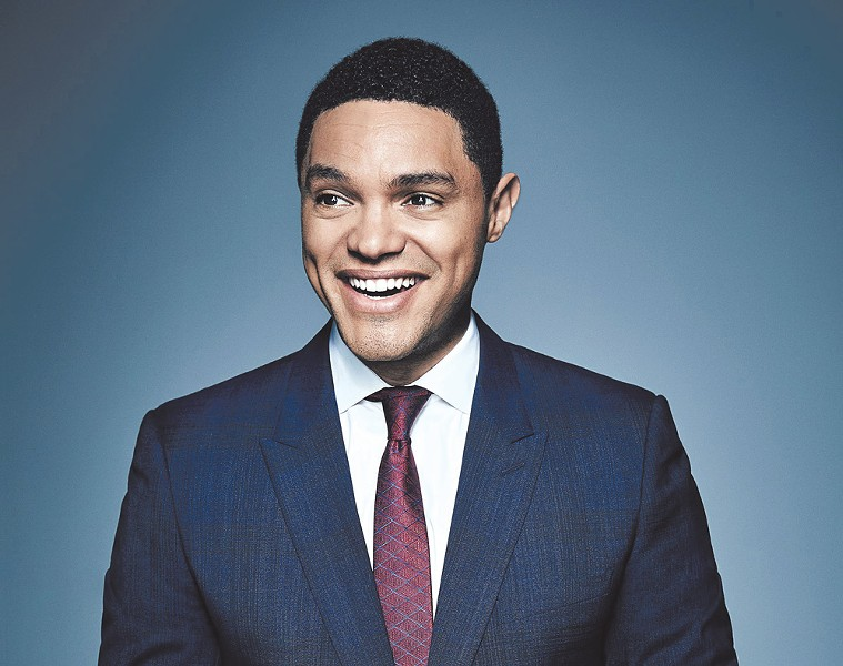 Trevor Noah - PHOTO BY TREVOR GREY