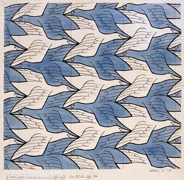 ARTWORK BY M.C. ESCHER VIA TWITTER