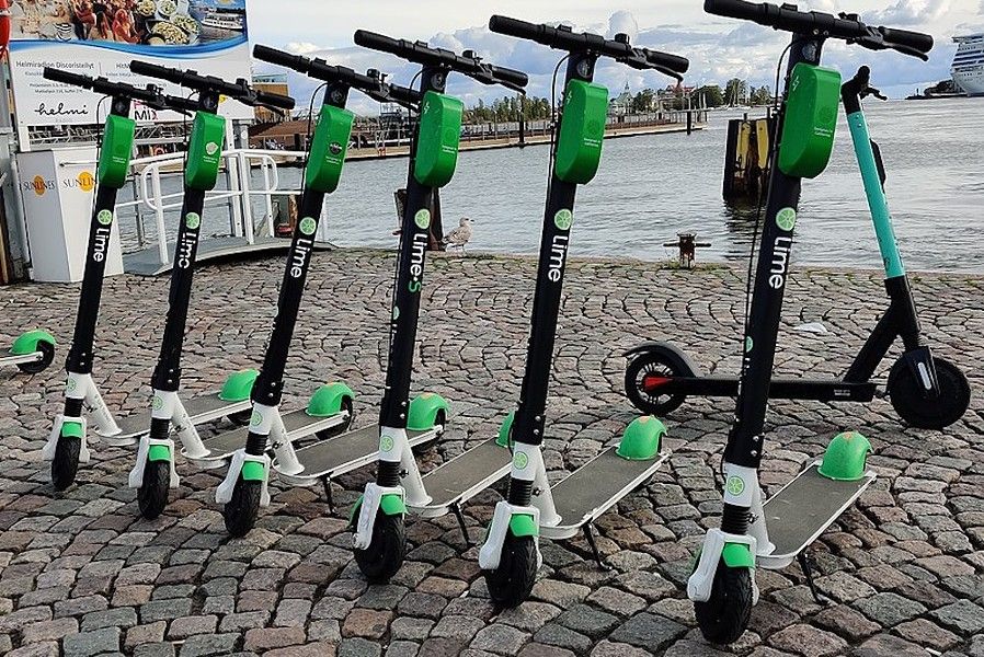Lime scooters could soon line Orlando streets - KISSA21782/WIKI COMMONS