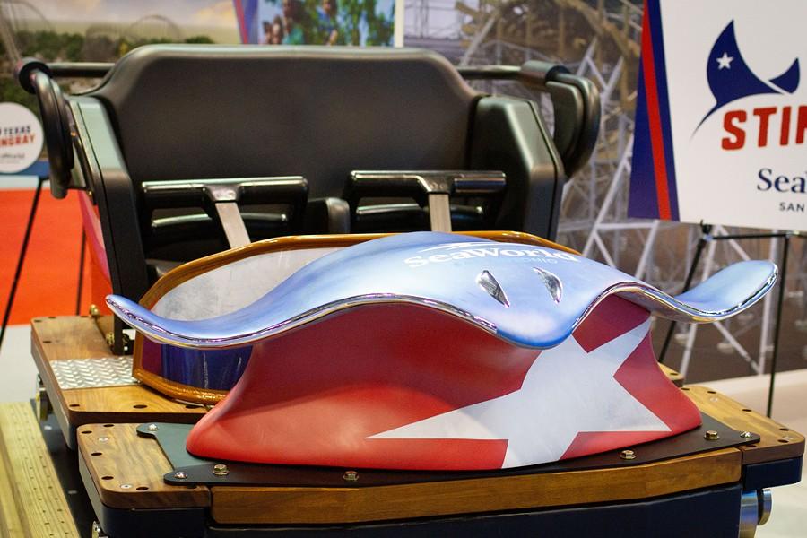 SeaWorld San Antonio's Texas Stingray - IMAGE VIA FREDDY GRUNER