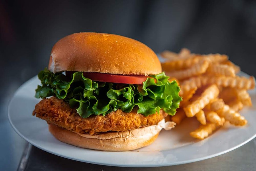 The fried chicken sandwich at the Coop by 4 Rivers - PHOTO COURTESY 4R RESTAURANT GROUP