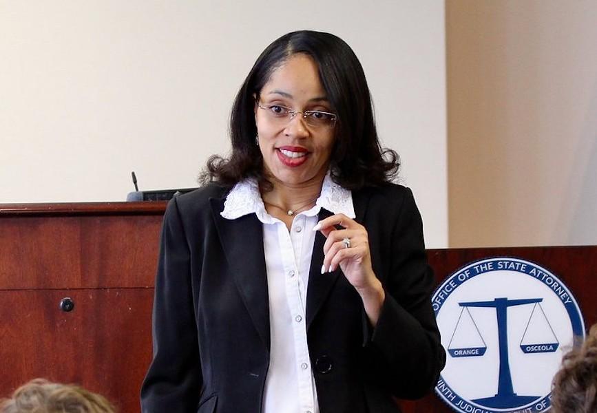 State Attorney Aramis Ayala - PHOTO VIA OFFICE OF STATE ATTORNEY ARAMIS D. AYALA/FACEBOOK