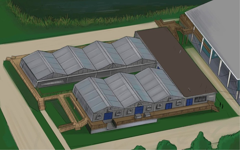 The Coral Arks planned for the Conservation and Technology Center - IMAGE VIA FLORIDA AQUARIUM
