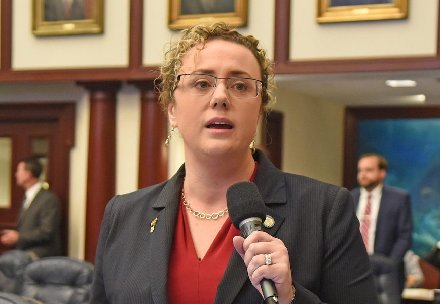 Bill sponsor Erin Grall, R-Vero Beach - PHOTO VIA FLORIDA HOUSE OF REPRESENTATIVES