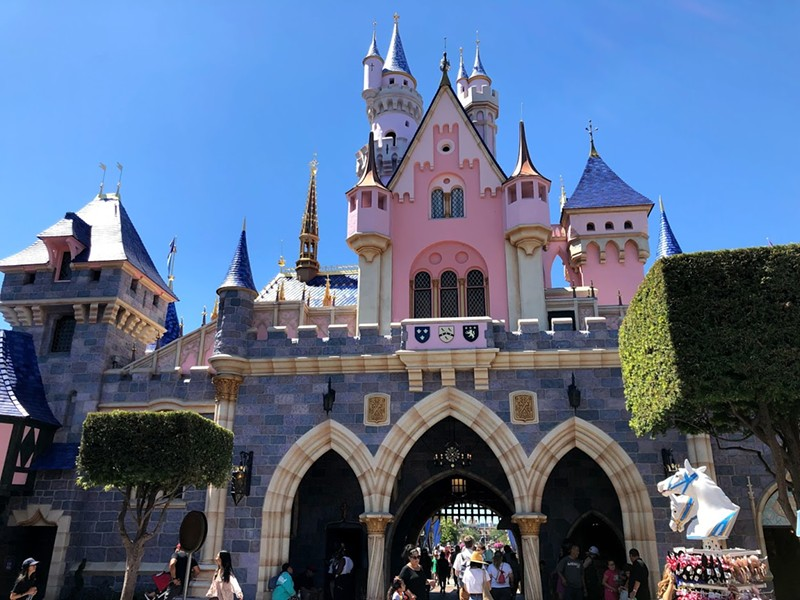 Disneyland's theme parks are closing as of March 14 in the wake of the COVID-19 pandemic. - PHOTO BY SETH KUBERSKY