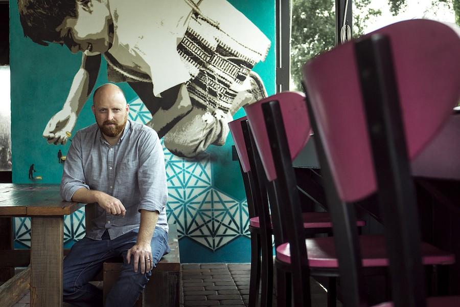 Chef Joe Creech of Hunger Street - PHOTO BY ROB BARTLETT