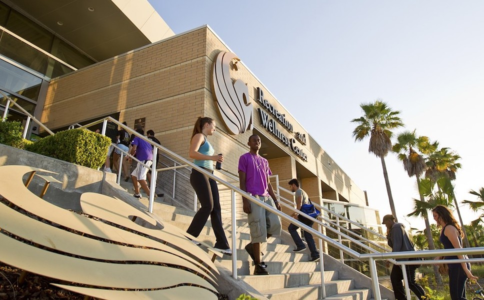UCF Recreation and Wellness Center - PHOTO VIA UNIVERSITY OF CENTRAL FLORIDA/FACEBOOK