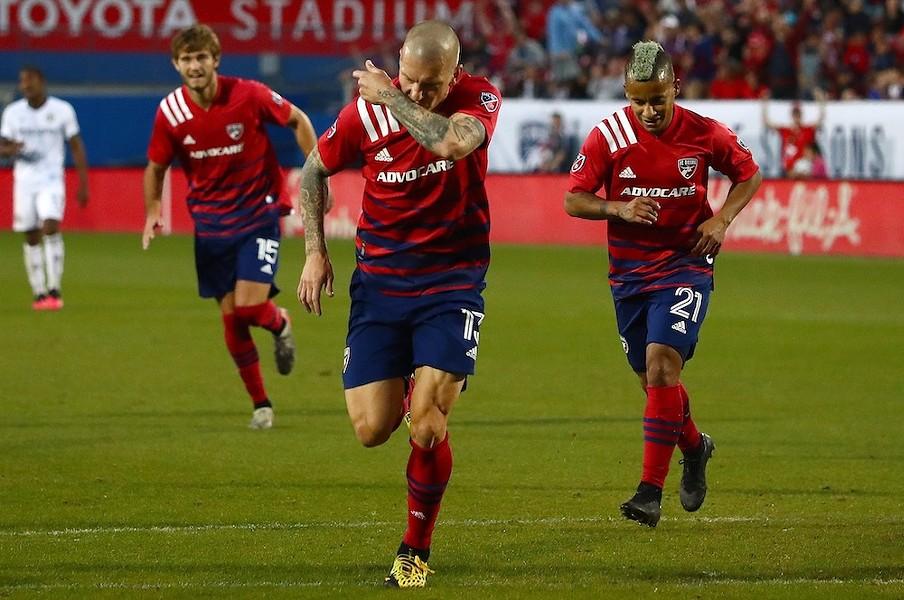 FC Dallas in action - PHOTO COURTESY FC DALLAS/FACEBOOK