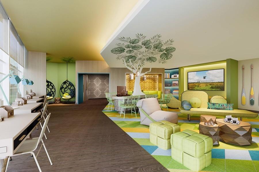The Kids Activity Center at the JW Marriott Orlando Bonnet Creek - IMAGE VIA MARRIOTT