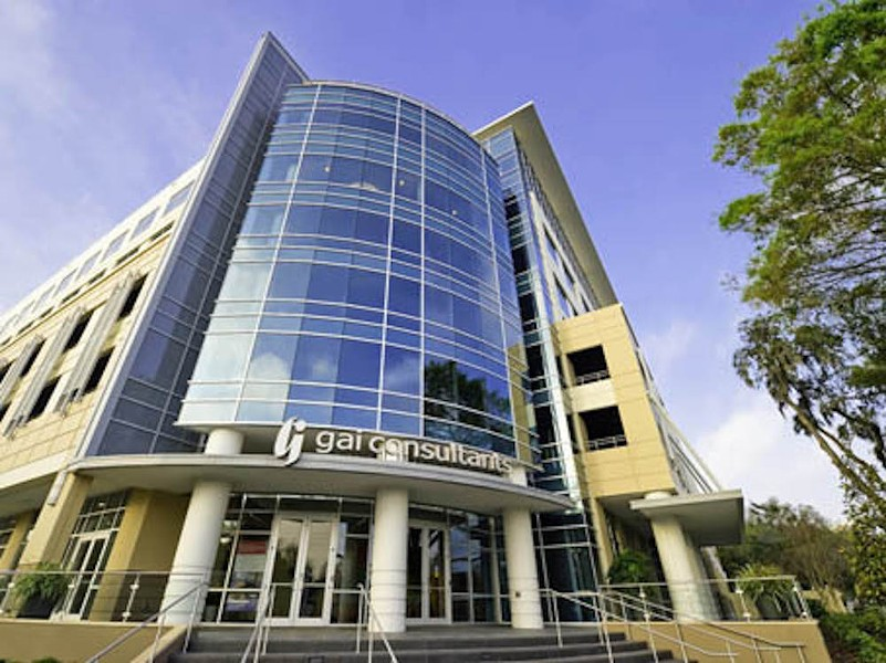 CNS Healthcare location at downtown's GAI building on E. South Street - PHOTO VIA CNS HEALTHCARE