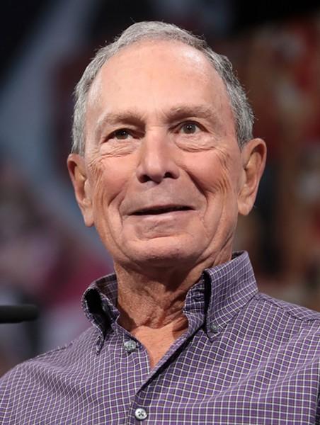 Michael Bloomberg - PHOTO VIA GAGE SKIDMORE/WIKIMEDIA COMMONS