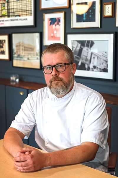 The Monroe executive chef Josh Oakley - GOOD SALT RESTAURANT GROUP