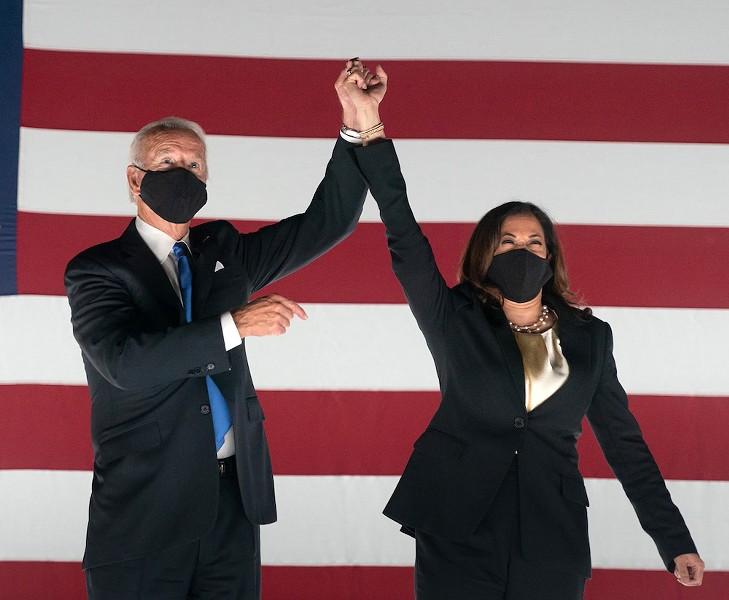 Vice President Joe Biden and Sen. Kamala Harris - PHOTO VIA JOE BIDEN/FLICKR
