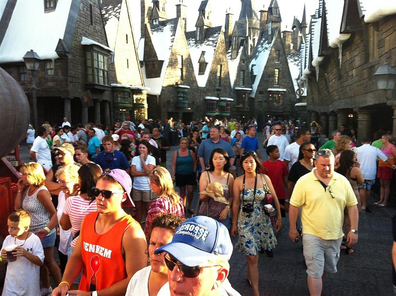 Muggles still fill the Wizarding World following Harry Potter's box-office win