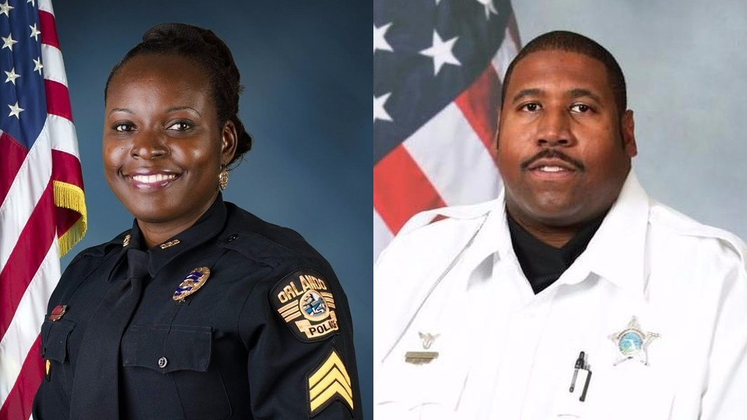 Orlando Police Lt. Debra Clayton/Orange County Deputy First Class Norman Lewis