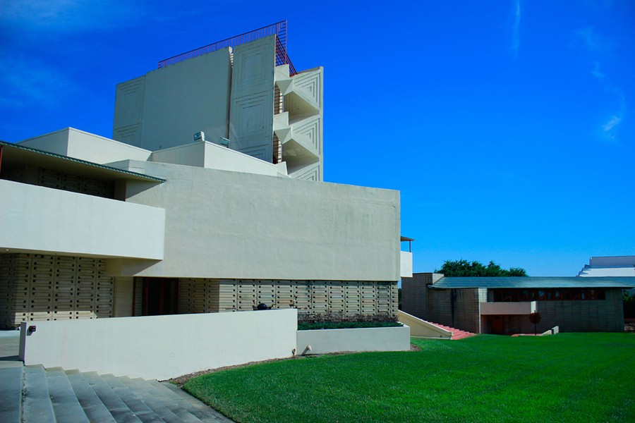 One of Frank Lloyd Wright's buildings at Florida Southern College - PHOTO BY LINDSEY THOMPSON