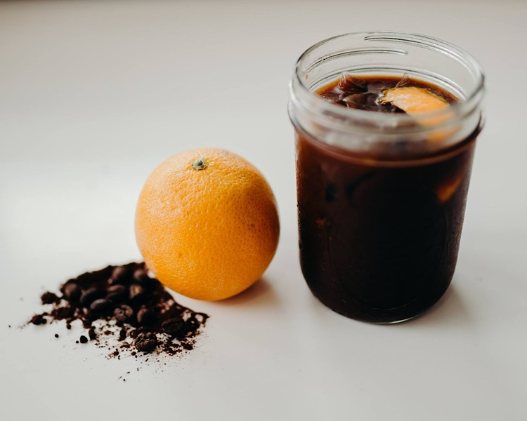 Valencia orange mocha cold brew - PHOTO VIA DOWNTOWN CREDO/FACEBOOK