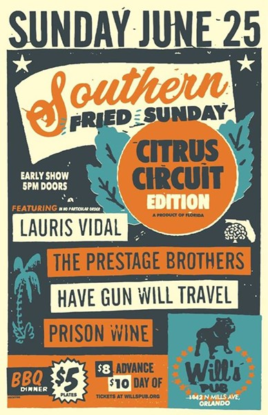 Southern Fried Sunday Citrus Circuit Edition